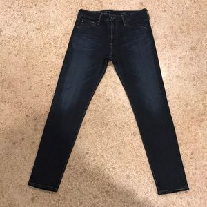 Adriano Goldschmeid High Rise Skinny Crop Jeans